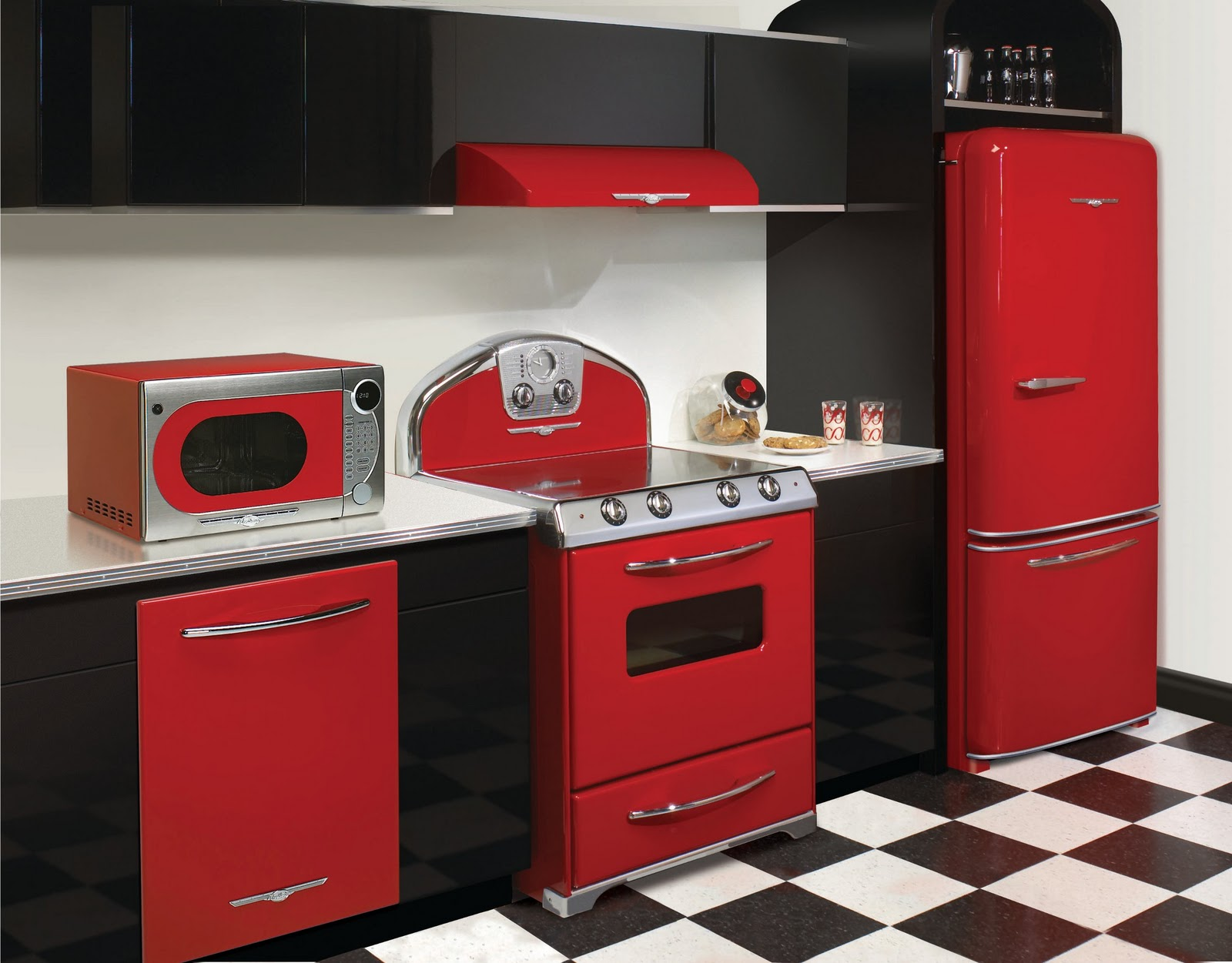 Full Red NS Kitchen 2010 12