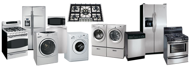 List of Appliance Types we service